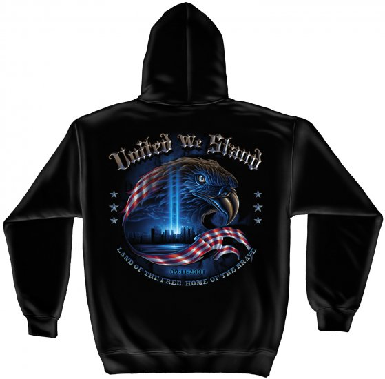 Hooded Sweat Shirt United We Stand