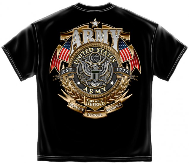 Army Gold Shield/Badge Of Honor