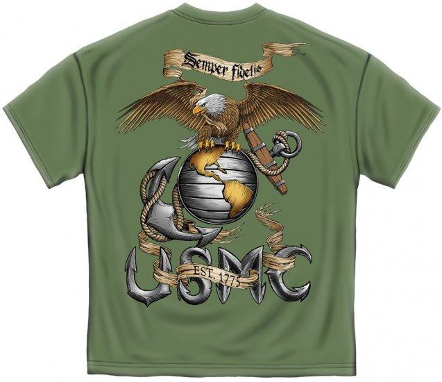 Eagle USMC Military Green