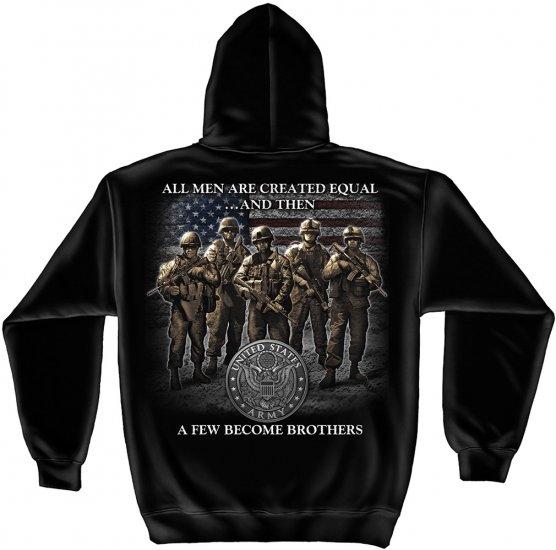 Hooded Sweat Shirt Army Brotherhood