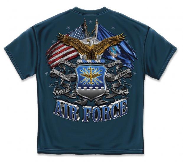 Double Flag Air Force Eagle Navy
