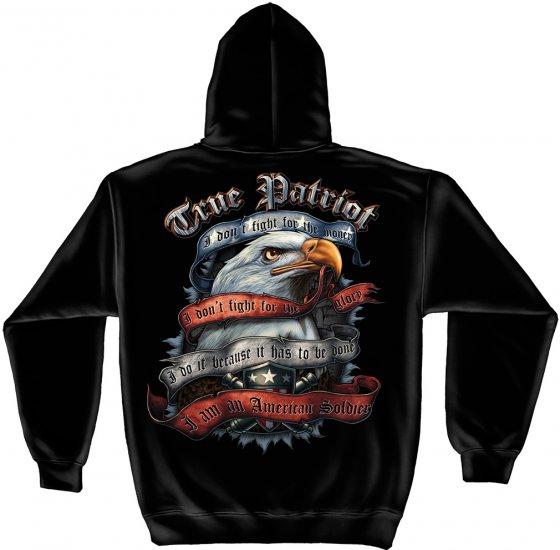 Hooded Sweat Shirt True Patriot