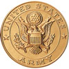 """Army 2"""" Stamped Medallion"""