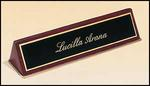 OCT572 - Rosewood Piano Finish Desk Wedge