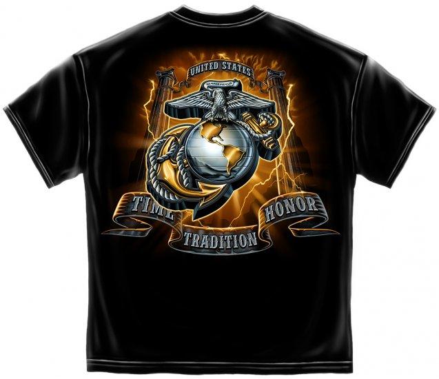 USMC Gold Lightning Time Honor Tradition Eagle