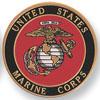 "Marine Corps 4"" Embossed Litho"