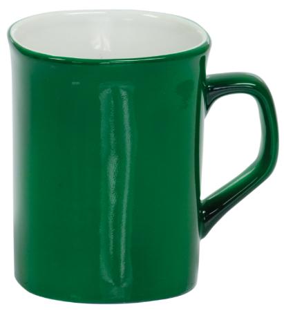 Coffee Mug Green/White
