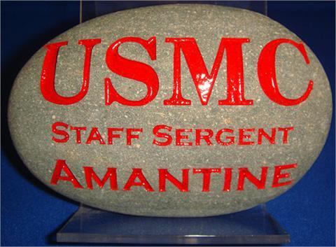 Grey USMC Stone