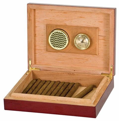 OCJHMD01- Rosewood Piano Finish Cigar Humidor