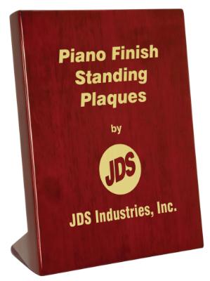 "OCPSP12 - 5"" x 7"" Rosewood Piano Finish Standing Plaque"