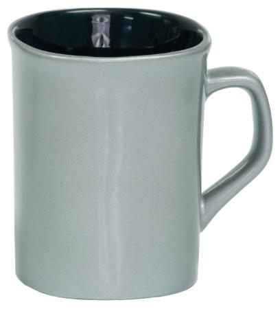 Coffee Mug Silver/Black