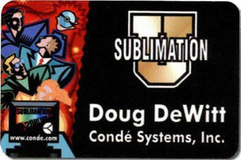 Sublimation Name Badge 2